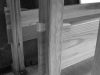 Wedged Mortise & Tenon base